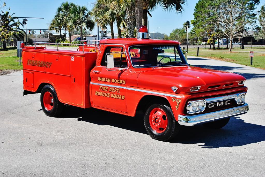 1966 GMC Rescue Truck - This Old Fire Truck