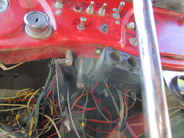 How can such a simple old truck have so much wiring?